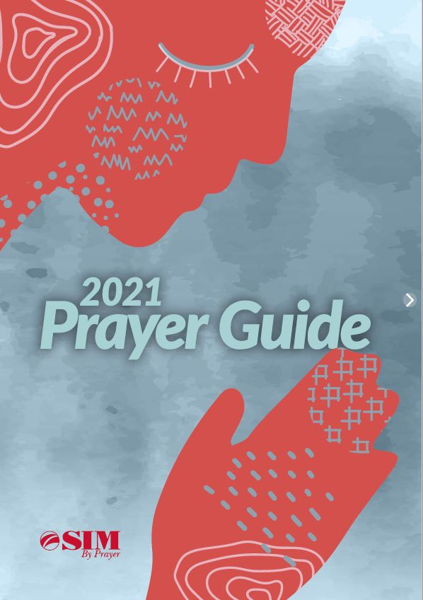 2021 prayer guide cover