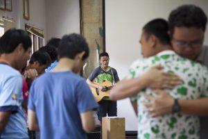 SIM team worship
