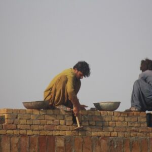 Bricks for an education centre