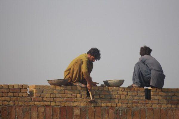 Bricks for an education centre