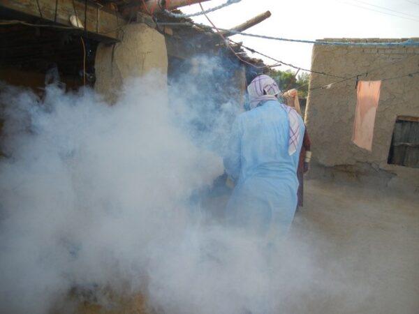 Fumigation against mozzies