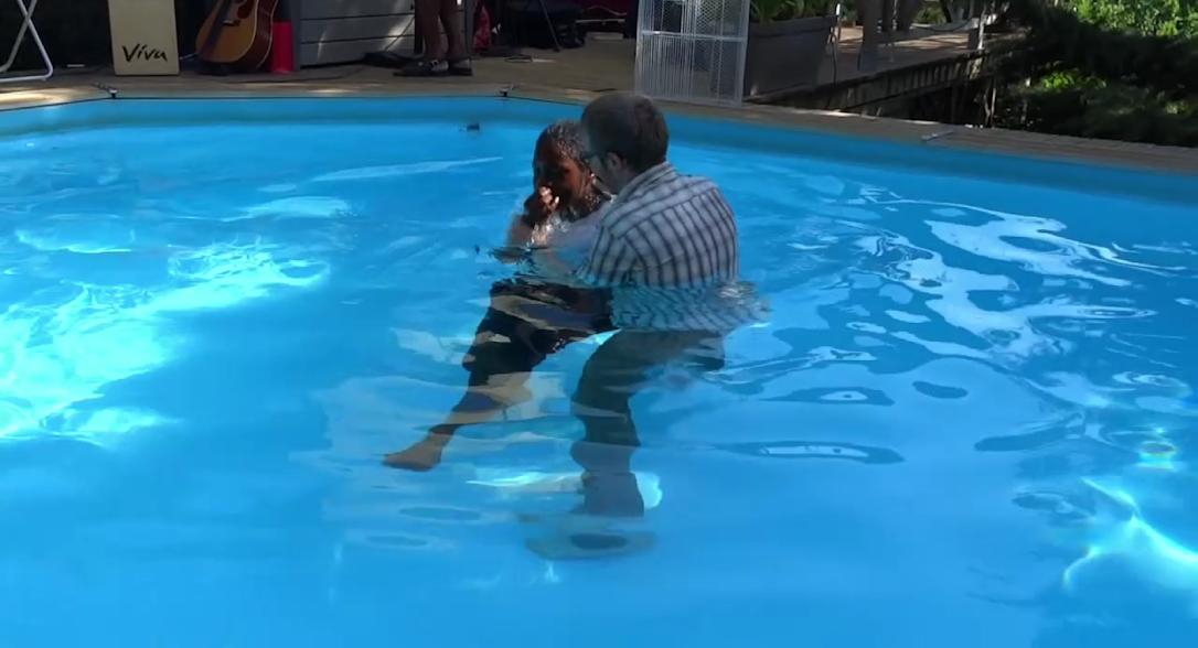 Anne's baptism