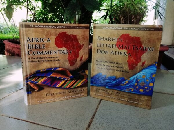 Bible commentary in English or Hausa