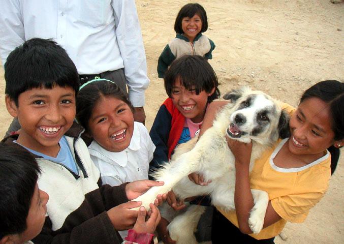 Peru - Camaná kids