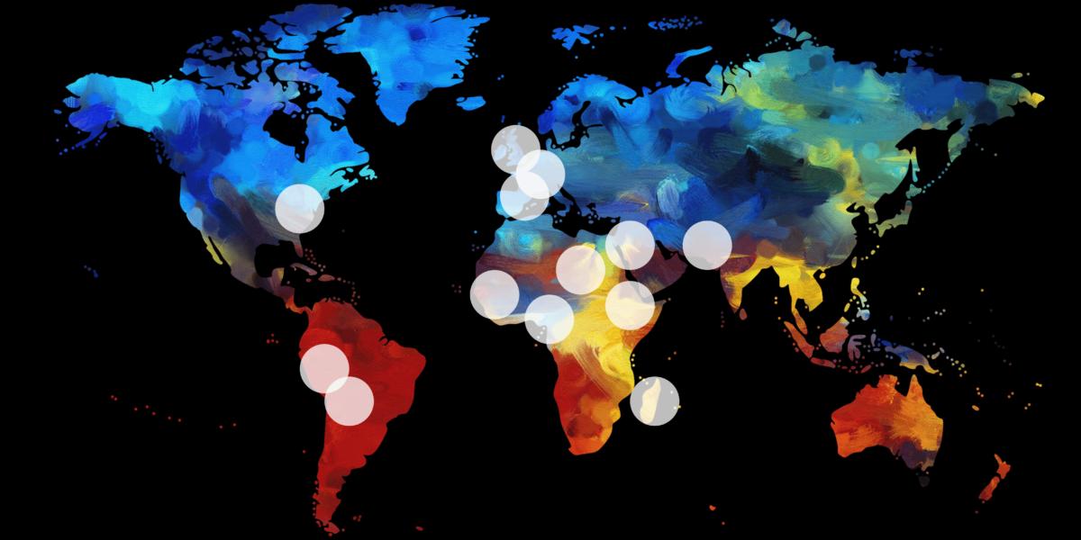 Prayer map