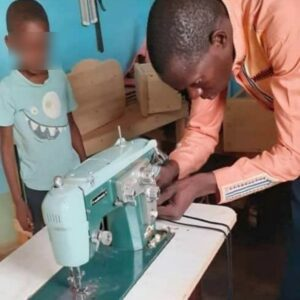 Sewing machine West Africa