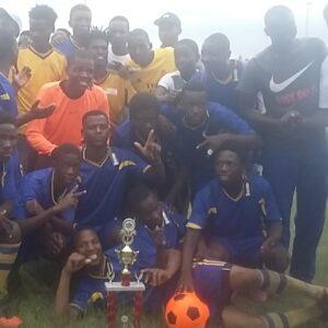 South Africa Tournament program Hope for AIDS