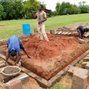 Ghana Flood - sand and cement for a new home